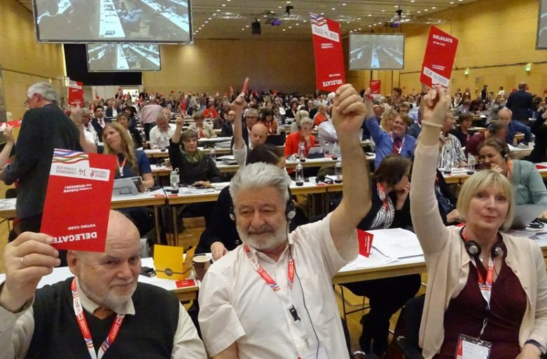 Kongress des Europäischen Gewerkschaftsbundes