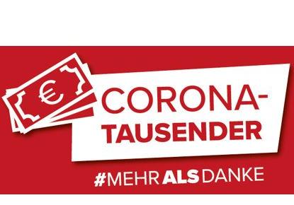 Corona-Tausender für alle